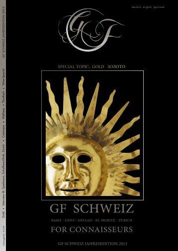 GF Schweiz - Jahresedition 2013