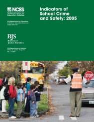 Indicators of School Crime and Safety: 2005 - Eric - U.S. Department ...
