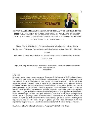 pedagogia uerê-mello - UniFil