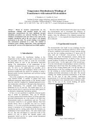 Temperature Distribution in Windings of Transformers with natural ...