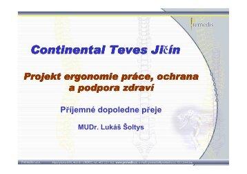 Continental Continental Teves Jičín