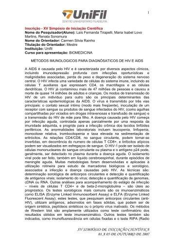 Anais BIOM - UniFil