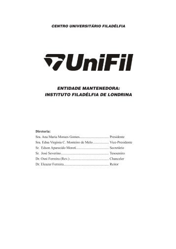 Faça o download da revista completa - UniFil