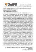 XVI SIMPÓSIO DE INICIAÇÃO CIENTÍFICA E I MOSTRA DE ... - UniFil - Page 3