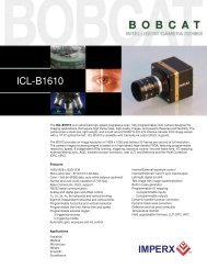 Imperx Bobcat ICL-B1610[1] - Uniforce Sales and Engineering