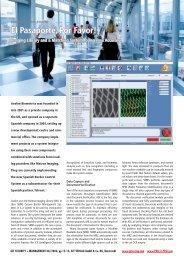 Matrox Avalon Biometrics (PDF) - Uniforce Sales and Engineering