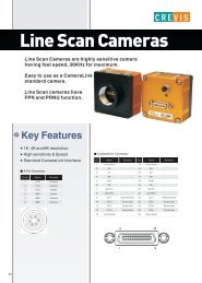 Line Scan Cameras - Uniforce Sales and Engineering