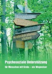 Psychosoziale Unterstützung - Haus der Krebs-Selbsthilfe - Bonn