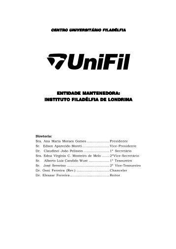 Faça o download da revista completa - UniFil