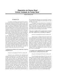 Diagnóstico de Doença Renal Crônica: Avaliação da ... - Unifra
