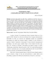 Telejornalismo e Poder: a moeda política que regula as ... - Unifra
