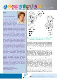 Alumni News D.indd - Université de Fribourg