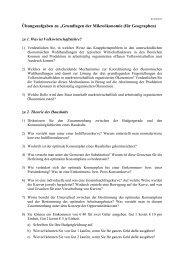 """Übungsaufgaben zu """"Grundlagen der Mikroökonomie (für ..."""