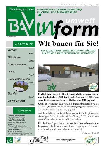 Wir bauen für Sie! - in Freinberg