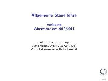 +t - Georg-August-Universität Göttingen