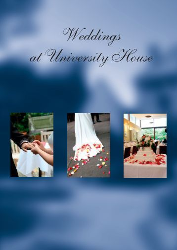 The Wedding Package - University House