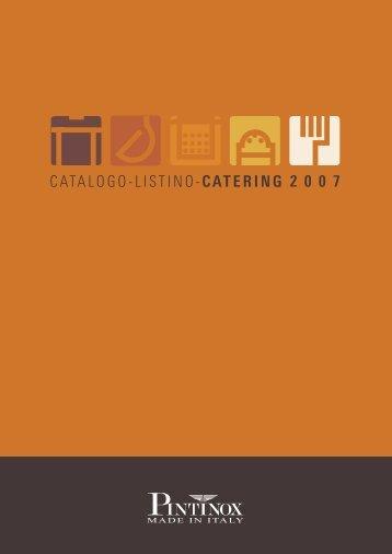 CATALOGO-LISTINO-CATERING 2 0 0 7 - Uni - Jas
