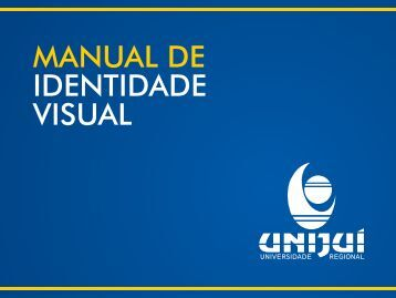 Manual de identidade visual completo - Unijuí