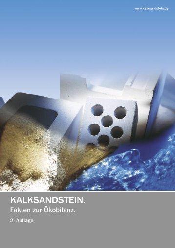 Kalksandstein - Fakten zur Ökobilanz - Unika