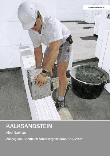 Einführung - Kalksandstein