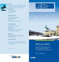 Kursprogramm - uniKIK - Leibniz Universität Hannover