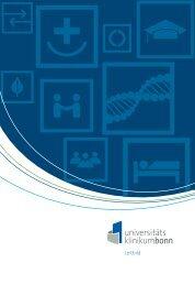 Leitbild als PDF-Broschüre - Universitätsklinikum Bonn - Universität ...