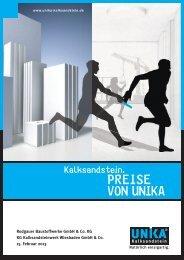 Download Unika Preisliste 2013