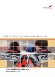 BERUFLICHE CHANCENGLEICHHEIT - Universitätsklinikum Bonn ...