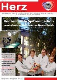 Konzentrierte Spitzenmedizin in Deutschlands ... - Herzzentrum