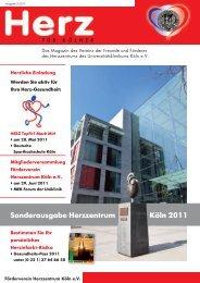 Sonderausgabe Herzzentrum Köln 2011