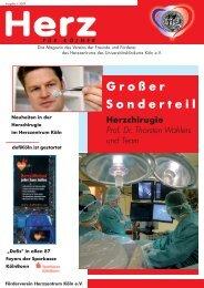 Ausgabe 1 / 2009 - Herzzentrum