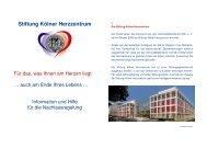 Stiftung Kölner Herzzentrum