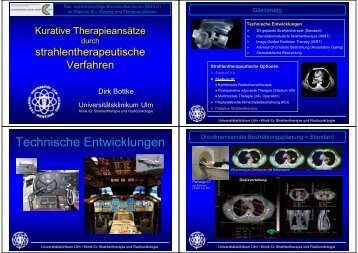 Technische Entwicklungen - Universitätsklinikum Ulm