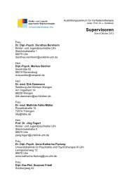 Liste Supervisoren