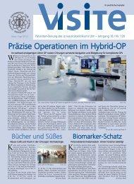 Präzise Operationen im Hybrid-OP - Universitätsklinikum Ulm
