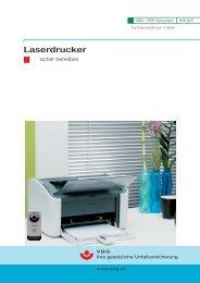 Laserdrucker im Büro - TU Dortmund - Referat 7, Arbeitsschutz