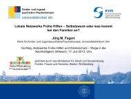 Lokale Netzwerke Frühe Hilfen - Universitätsklinikum Ulm