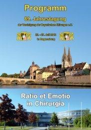 VBC_Programm_2012.pdf - Universitätsklinikum Regensburg