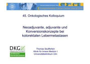PFS + - Universitätsklinikum Ulm