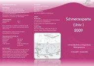 Flyer Schmerz V7 - Universitätsklinikum Regensburg