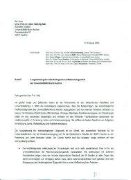 An Herrn Univ.·Prof. Dr. med. Henning Saß Ärztlicher Direktor ...