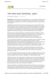 www.an-online.de Warnstreik MZ 20080312