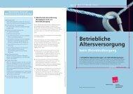 Betriebliche Altersversorgung - Verdi-direkt-in-der-hvb.de