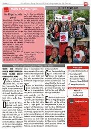 Mails & Meinungen - bei der ver.di-Betriebsgruppe am UKA!