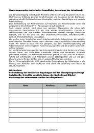 Unterschriftenliste Nachtdienst