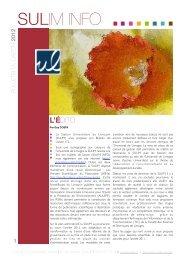 iSULIMINFO 2 - Université de Limoges