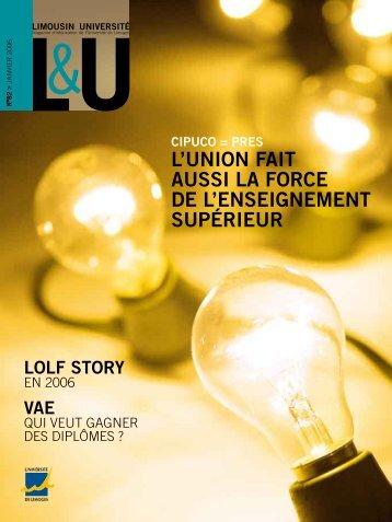 LU n°82 - Université de Limoges