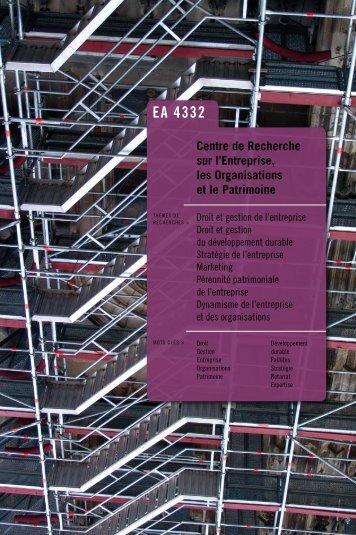 en savoir plus... - Université de Limoges