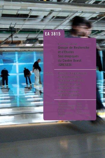 GRESCO.pdf - Université de Limoges