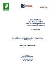 La Dynamique Du Campus Universita C De Limoges